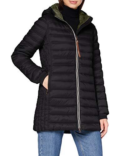 camel active Womenswear Damen 3206004E5009 Jacke, Black, 36