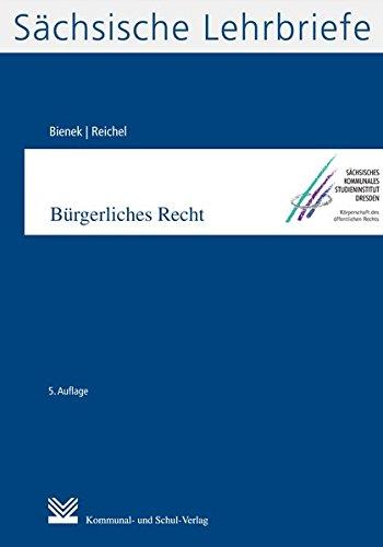 Bürgerliches Recht (SL 2): Sächsische Lehrbriefe: Schsische Lehrbriefe 02