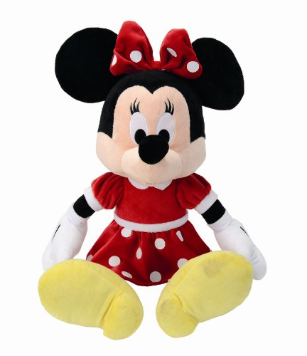 Disney Doudou Red Dress Minnie - 50 cm