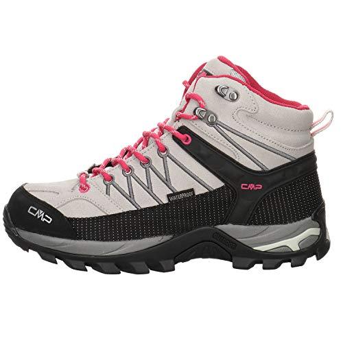 CMP Damen Trekking Schuhe Rigel MID 3Q12946 Glacier-Cemento 38
