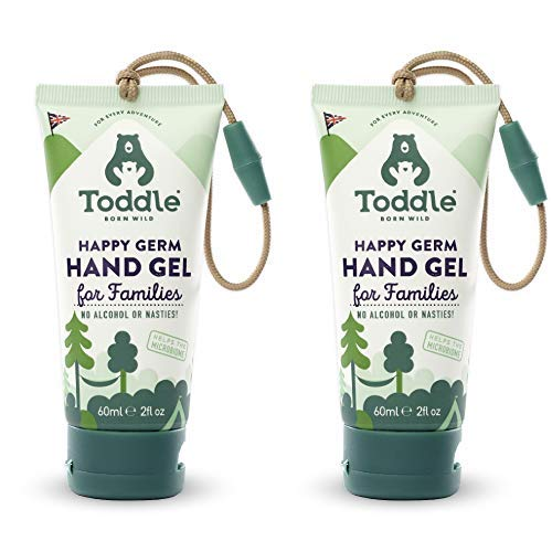 Toddle Happy Germ Probiotic Hand Gel [Pack of 2] Protects your hands using cultures (lactobacillus)