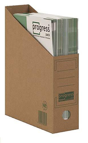 Progress PF S06.20_14_020 Stehsammler 80 260x 75x315 mm braun DIN A4+ PREMIUM ** Verpackungseinheit: 20 Stück **