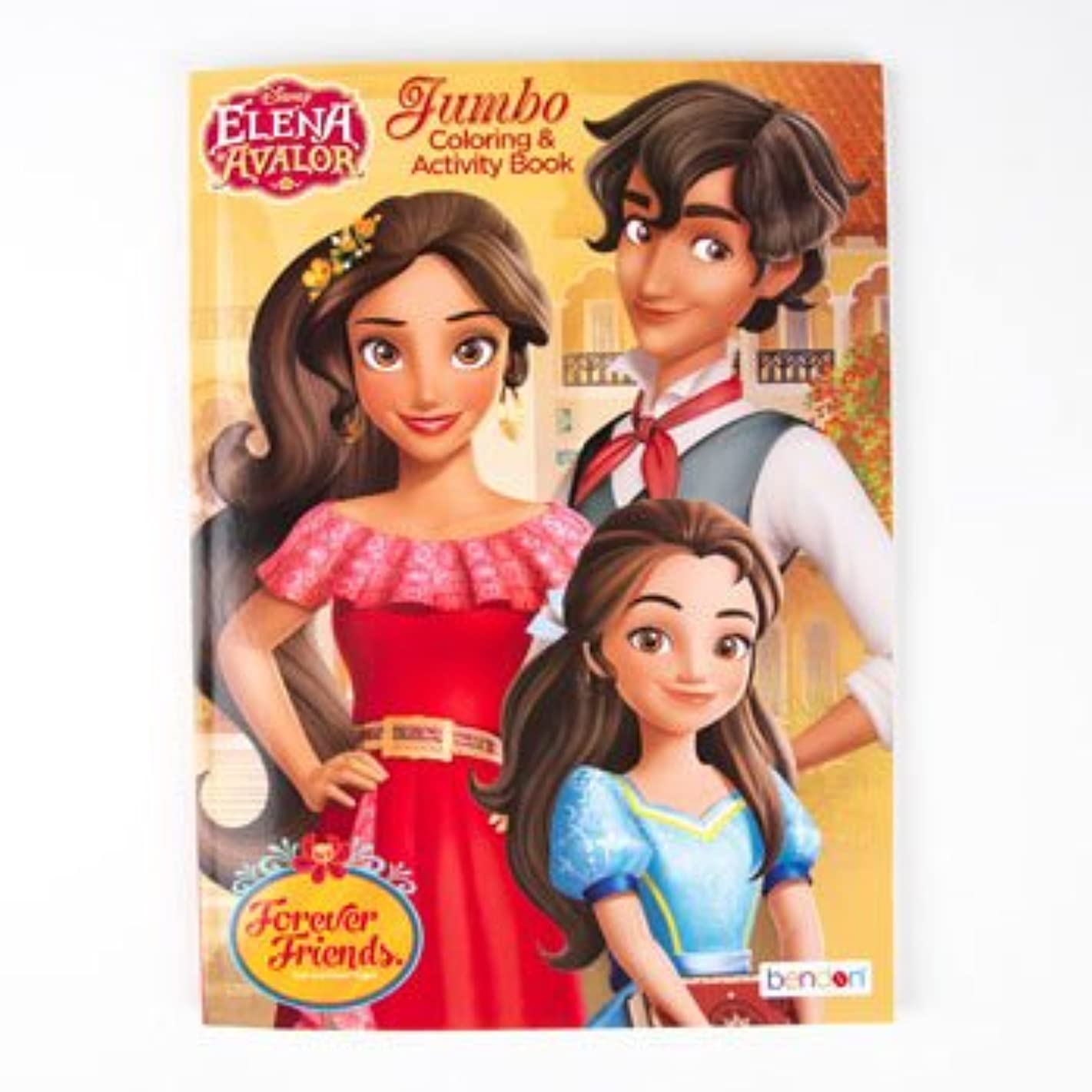COLORING BOOK ELENA OF AVALOR DISNEY 96PG IN 24PC DISPLAY BOX, Case Pack of 24