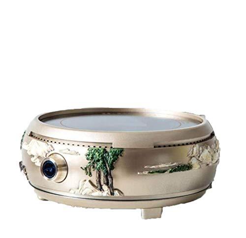 Estufa de cerámica eléctrica 1250W Estufa de té para el hogar MUTE MUTE Horno de agua Horno de calefacción Horno de hierro Pote de cobre fabricante de té aplicable Tetera: El pot potleware resistente