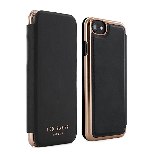 Ted Baker 2015 iPhone 6S / 6 Case, Official iPhone 6 Wallet Cover with Rose Gold Finish iPhone 6S Gold Cover, Professional Women's iPhone 6S Cover Fashion Case for iPhone 6