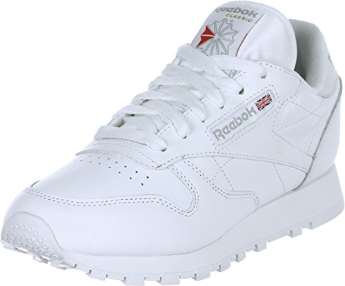 Reebok Classic Leather Sneaker, Weiß (White 2232), 35 EU
