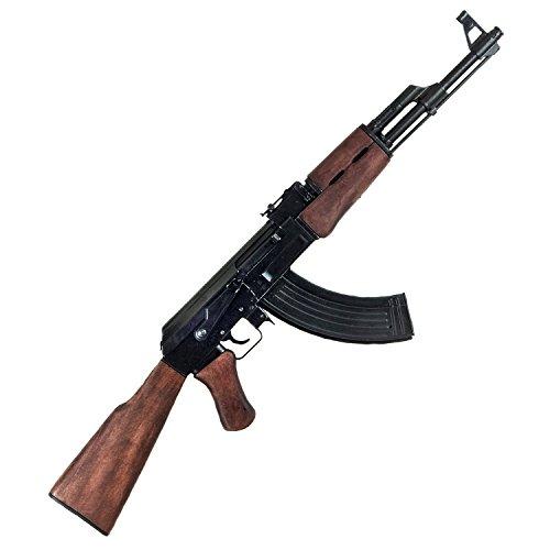 Dekowaffe Kalashnikov AK 47 incl. Magazin Mod.1947 Holzschaft