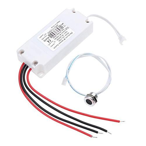 AC 85-250 2A Sensor de movimiento infrarrojo sin contacto IR del cuerpo de encendido/apagado interruptor corto para el gabinete de cocina