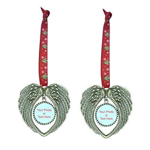 Fasclot Decoration & Hangs Angel Assistant Heart-Shaped Tag Christmas Tree Tag Ornaments Christmas DIY