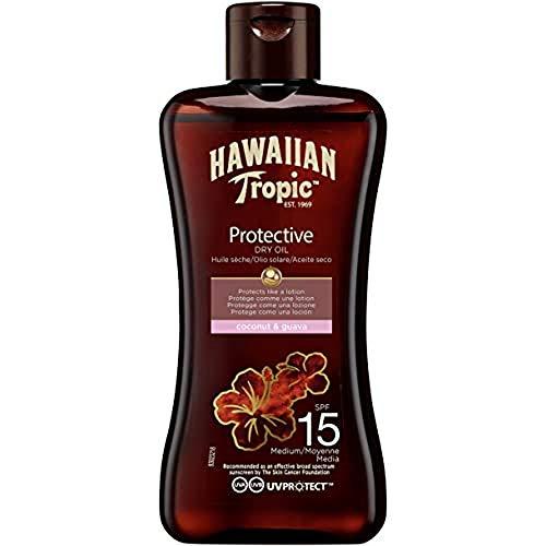 Hawaiian Tropic Protective Dry Oil Sonnenöl LSF 15, 100 ml, 1 St