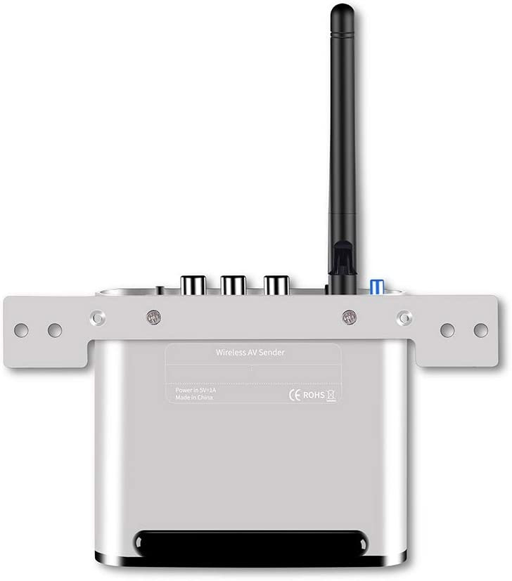 ZZHLMY-US 5.8GHz Wireless Audio/Video Transmitter and Receiver, Transmission Distance: 300m