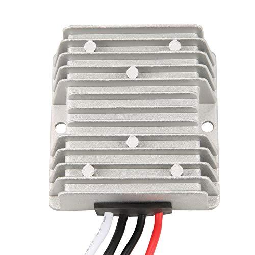 Akozon Regulador de voltaje 12V 24V a 5V Aumento del voltaje DC Regulador de voltaje Fuente de alimentación 30A 150W