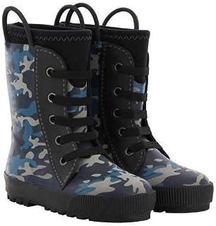 Western Chief Blue CAMO Reflective Neoprene Sneaker Boot