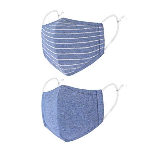 OUICE 2PC, Kinder-Ohrenschützer, verstellbare dreidimensionale staubdichte Ohrenschützer, dreischichtiger Schutz, Wind- und staubdicht, wasserdicht, spritzwassergeschützt