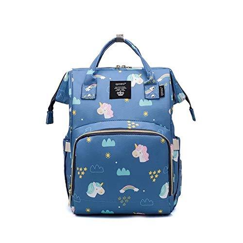 YUIOP Mochila Mommy Bag Bolsa De Maternidad Multifuncional Mommy Bag Botella De Leche Mochila Bolsa De Hombro Bolsa De Pañales