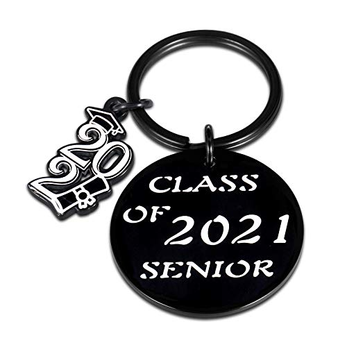 Graduation Gifts for Him Her Class of 2021 Senior Students Keychain Graduates Masters College Medical High School Students Gift for Women Men Friends Nurse Daughter Son from Mom Dad Inspirational Gift