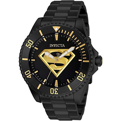 Invicta DC Comics Reloj de Hombre automático Correa y Caja de Acero 26897