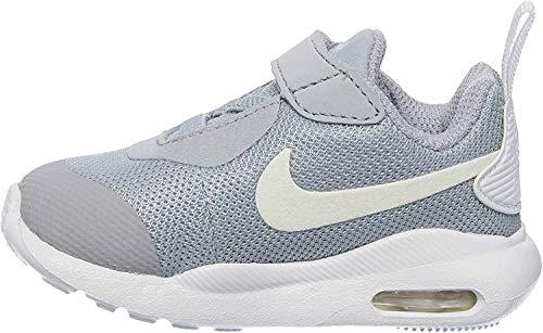 Nike Unisex Baby Air Max Oketo (TDV) Niedrige Hausschuhe, Grau (Wolf Grey/White 000), 22 EU