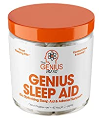 FALL ASLEEP FASTER, SLEEP BETTER / WAKE UP RESTORED – Our natural sleep aid sources the best scientifically proven ingredients found in nature! These sleeping pills help adults calm anxiety, improve sleep quality and support adrenal health! Restore c...