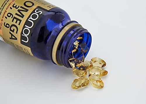 SANON Omega 3,6,9 110 Cápsulas Blandas De 720 Mg, 79g