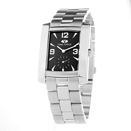 TIME FORCE TF2341B-06M - Reloj Unisex Movimiento Cuarzo con Correa DE Acero TAMAÑO 30MM