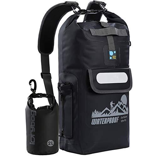 IDRYBAG Waterproof Backpack Floating Dry Bag