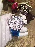Luxury Women Orologi Meccanici Automatici in Oro Rosa Rosa Nero Blu Lunetta in Ceramica Acciaio Inossidabile Zaffiro Orologio AAA +Argento Bianco