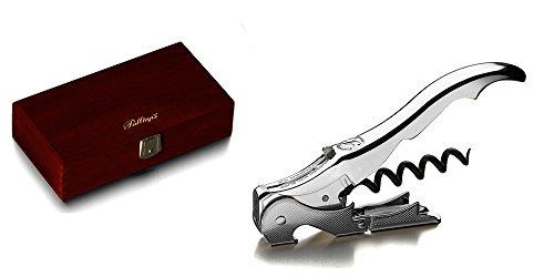 Pulltaps Double charni/ère serveurs Corkscrew Pulltaplogo s. Original Fabriqu/é en Espagne