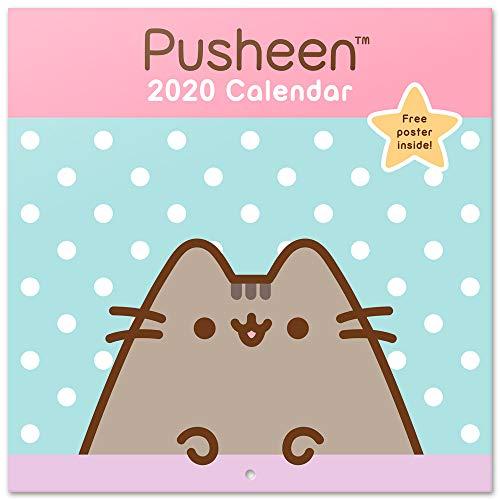 Erik - Calendario de Pared 2020 Pusheen Rose Collection, 30 X 30 cm (Póster de Regalo)
