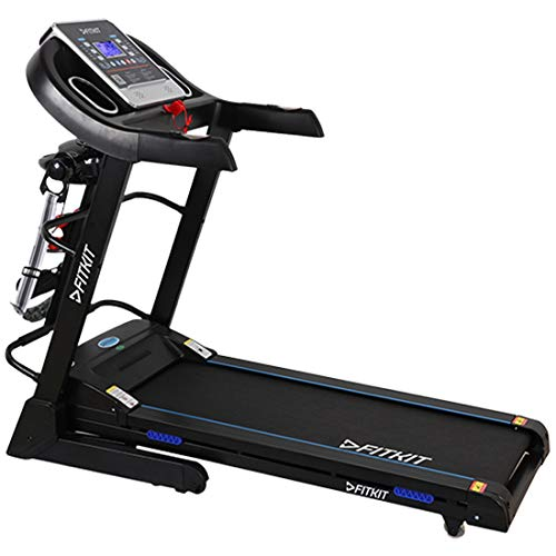 Fitkit FT063 2.25HP (3HP Peak) Motorized Treadmill With Free Installation and Free Diet & Fitness Plan