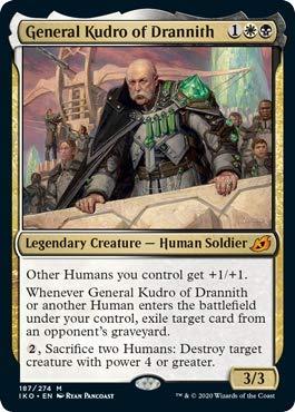 Magic: The Gathering - General Kudro of Drannith - Ikoria: Lair of Behemoths