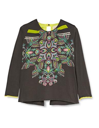 SideCar Abril-I17 Camiseta de Manga Larga, Multicolor (Estampado), X-Large (Tamaño del Fabricante:XL) para Mujer