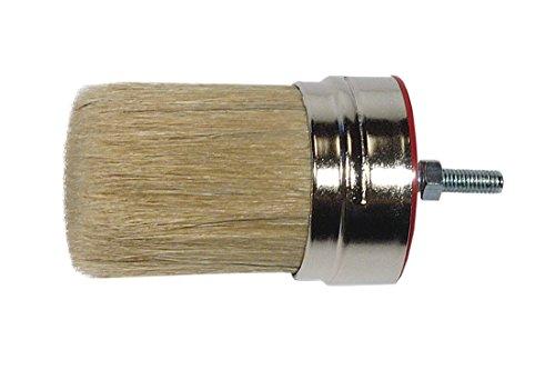 STANDARD Knollenpinsel Gr. 10 Chinaborste hell Nischenpinsel Rost Schutz Maler Pinsel für die Beschichtung von lösemittelhaltigen aber auch wasserverdünnbaren Farben und Lacken