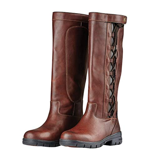 Dublin Pinnacle Grain Boots II Red Brown 7