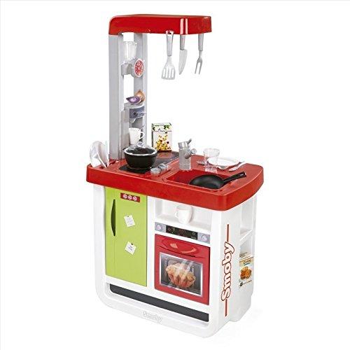 Smoby - Cocina Bon Appetit, Color Rojo (310804)