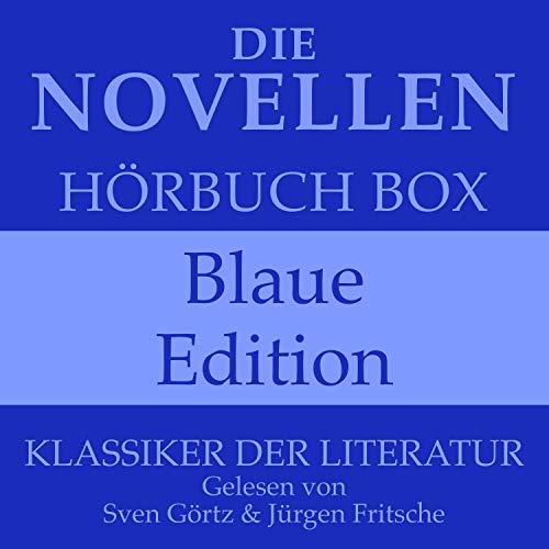 Couverture de Die Novellen Hörbuch Box - Blaue Edition