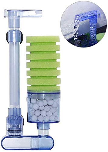 boxtech Aquarium Filter, Zubehör für Aquarium Filter, leiser Biorb Filter für kleine und große Aquarien (Single Sponge)