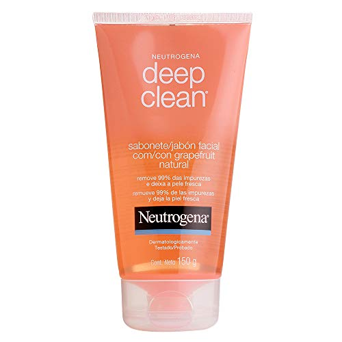 Sabonete Facial Deep CleanGrapefruit, Neutrogena, 150g