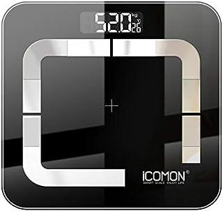 Báscula Grasa Báscula De Peso De Baño Inteligente Báscula De Grasa Corporal Digital Lcd De Piso Pesaje Humano Báscula Mi Balance Bmi Bluetooth