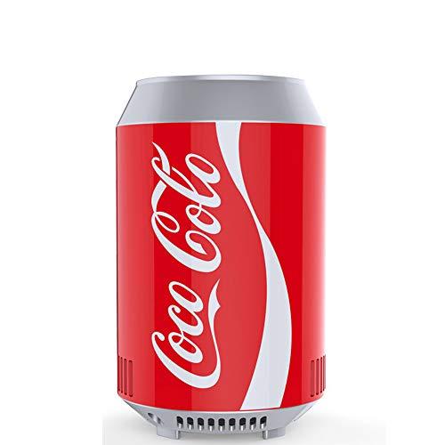 small-fridge Mini Can Cooler Coca-Cola Kühlschrank Auto Kühlschrank Auto Nach Hause Dual Use Kleine Kühlbox Heizung Schlafsaal Haushalt A