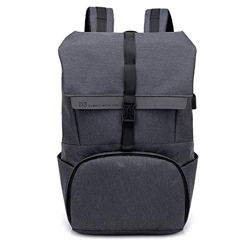 Zaino spalla borsa tempo libero borsa usb carica viaggio computer zaina personalizzabile