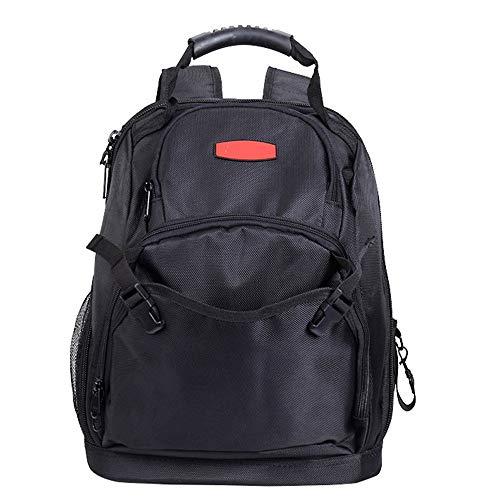 Bolsa de herramientas resistentes Instrumento eléctrico profesional mochila, bolsa de almacenamiento de...