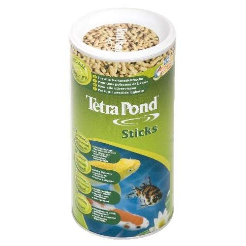 Animalerie Riga - Pond Sticks Granulés Poissons De Bassin 1L - Lot De 3 - Vendu par Lot