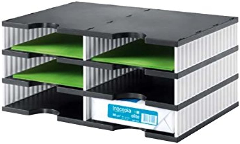 Styrodoc duo schwarz&Weiß 3 Et. B079YB867L | Maßstab ist der der der Grundstein, Qualität ist Säulenbalken, Preis ist Leiter  41fcaf
