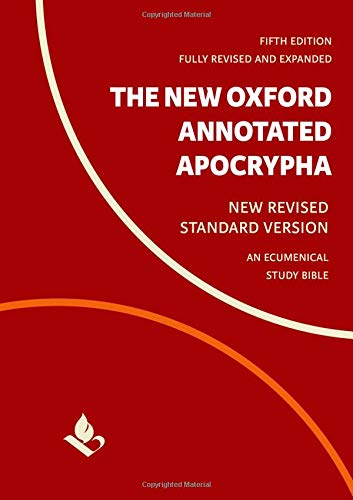 Compare Textbook Prices for The New Oxford Annotated Apocrypha: New Revised Standard Version 5 Edition ISBN 9780190276126 by Coogan, Michael,Brettler, Marc,Newsom, Carol,Perkins, Pheme