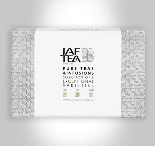 Jaf Tea Pure Teas & Infusions / 3 Grüne Tees / 3 Schwarze Tees / 2 Kräuter Tees