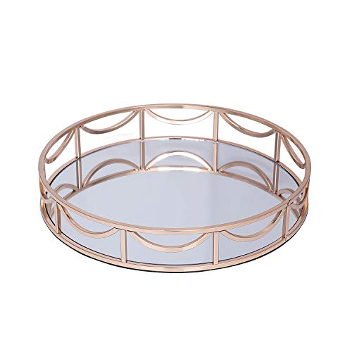 Gloval Home Round Tray Mirror 14 X2 4 D Buy Online In Barbados At Desertcart
