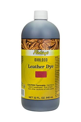 Fiebing's Leather Dye - 32 Ounces, Oxblood