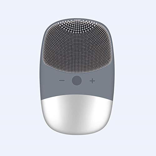 Nieuwe diepe gezichtsreinigingsborstel elektrische massageborstel wasmachine waterdichte siliconenreinigingswerktuigen grijs