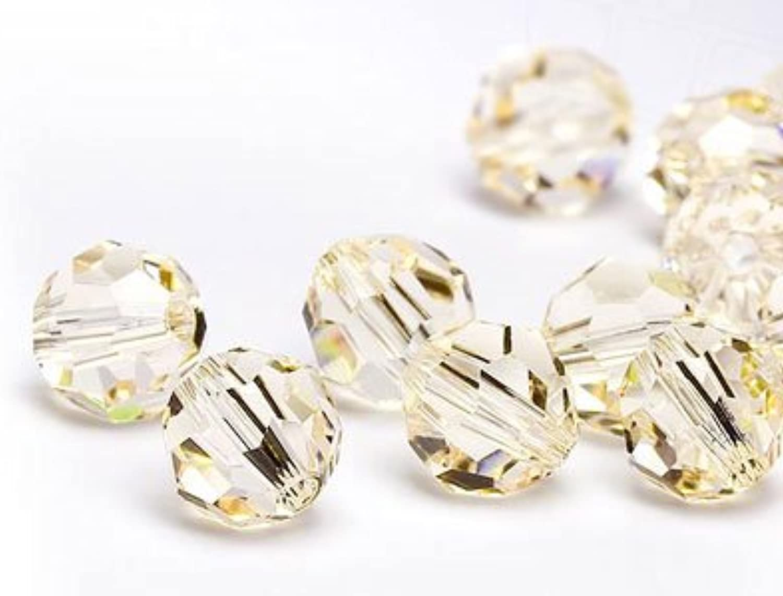 Glass Beads of Swarovski Elements round 6mm (Silk), 360 Pieces